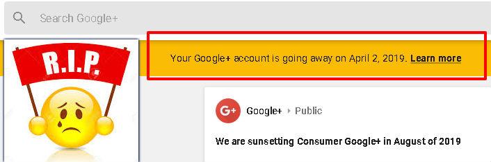 Googleplusgoing